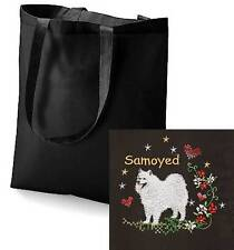 Samoyed Tote Bag  Embroidered by Dogmania