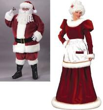 SANTA SUIT and MRS. SANTA CLAUS GOWN Couples Costumes