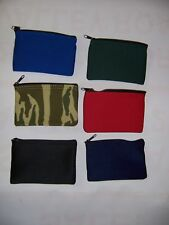 250 Piece Blank Zippered Coin Bag Wholesale Resale Lot