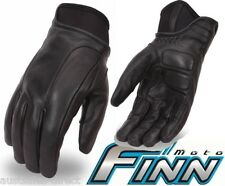 Mens Aniline Kevlar Padded Leather Motorcycle Gloves