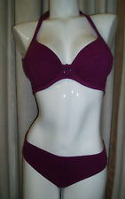 Rasurel Lejaby Impec Tri or Padded Bikini Berry E/F