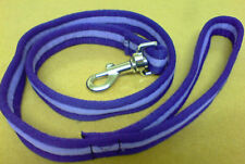 DOG LEADS Cushion/Air web 1 mtr or 2mtr Various Colours