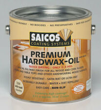 Saicos Premium Hard Wax Oil-4 finishes to choose 2.5ltr