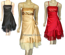 Formal Cocktail Party Evening Bridesmaids Dress Black Size 8 10 New