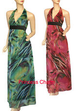 Cocktail Maxi Dress Green Size 10 12 14 16 18 20 22 24