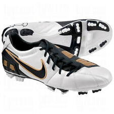 Nike Total 90 T90 Shoot III L- FG 2010 Soccer Shoes White / Obsidian / Gold