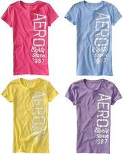 LOT OF 4! Aeropostale T shirts Tee top XS,S,M,L,XL,2XL