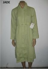 NEW size S or XS FLAX Linen ZIP SMOCK Dress/Duster many prints & solids U PIC