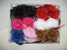 FLOWER GALORE HAIR CLIPS***ASSORTED (MD09D)
