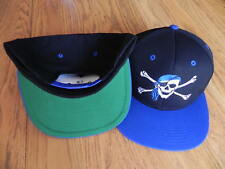 PIRATE FASHION VINTAGE SNAPBACK RETRO 2-TONE HAT CAP