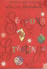 traditional / open with love GRANDMA christmas card - multilisting
