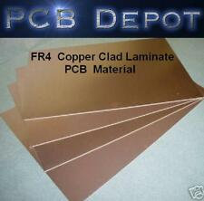 FR4 Copper Clad Laminate PCB Printed Circuit Board Material CUSTOM SIZE
