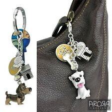 Little Paws Key Ring & Trolley Token - Various Breeds of Dog Keyrings