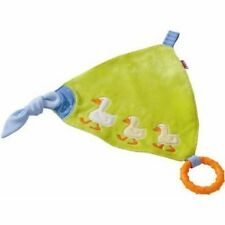 Haba Baby Cuddly Toy Gaggle Of Gease Tatu-Tata Teething Rings Cute Cozy Blanky