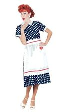 LUCILLE BALL I LOVE LUCY POLKA DOT ADULT WOMEN'S DRESS Halloween Sexy Party S-XL
