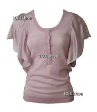new RRP $150 WITCHERY LILAC SOFT MERINO WOOL SILK BLOUSE JUMPER TOP FREE POST