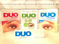 DUO EYELASH ADHESIVE GLUE DARK CLEAR LARGE SMALL 7g 14g BRUSH ON - FRESH STOCK!