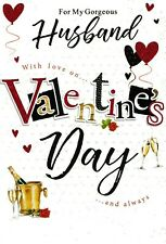 HUSBAND VALENTINES DAY CARD CUTE VALENTINE'S - 9 X CARDS TO CHOOSE FROM!