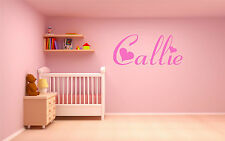 Baby Name Wall Graphic Vinyl Wall Art Giant kids transfer decal sticker nursery