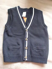 NWT GYMBOREE GOLF PRO SPRING SOCIAL EASTER NAVY BUTTON SWEATER CARDIGAN