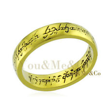 "18k Yellow Gold EP "" Lord of the rings "" Ring"