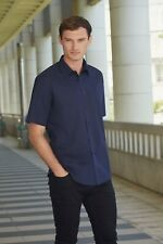 Fruit Of The Loom Mens Short Sleeve Poplin Shirt