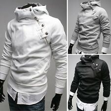 2012 spring NWT Men's Slim fit Top Designed Sexy Hoody Jacket Coat 4color 4Size
