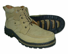 Mens Leather Boots, Colour Brown & Beach, Size UK 6 to UK 11 Free Postage!!