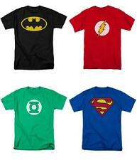 T Shirt DC Comics Batman Flash Green Lantern Superman