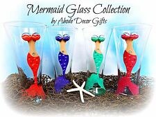 Mermaid Glass Tropical Beach Nautical Unique Classy Gift Pilsner Island Mythical