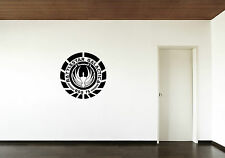 Battlestar Galactica Vinyl Wall Sticker art decal large pic graphic BSG Insignia