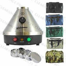 Volcano Classic Vaporizer w/ Easy or Solid Valve Starter Set + Vape Case Bag