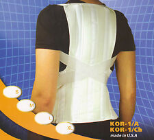 DELUXE POSTURE CORRECTOR BRACE BACK SHOULDER SUPPORT SOFT CONTROL All Sizes
