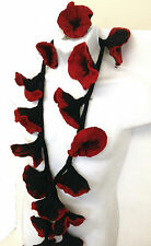 New Flower Scarf Made of Natural Felt, Hand Made in Napal
