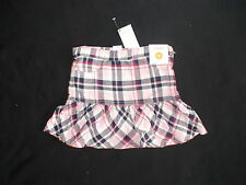 NWT GYMBOREE HOMECOMING KITTY PINK PLAID SKIRT BACK TO SCHOOL