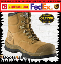 New Oliver ATs Work Boots Safety/Steel Toe Cap Wheat Construction/Mining 55232
