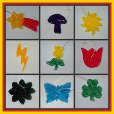 AUTO AIR FRESHENERS Flower Butterfly Lightning Mushroom Stars ~ Over 100 scents!
