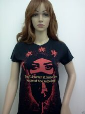 RAGE AGAINST THE MACHINE womens T-SHIRT ROCK BAND RARE size SM MED LG XL NEW