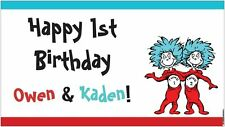 NOW $29.95 Dr. Seuss Cat in the Hat Thing 1 and Thing 2 Party Banner Decorations
