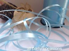 Pale Blue Curling Ribbon 25M, 50M, 100M from 99p Free Postage