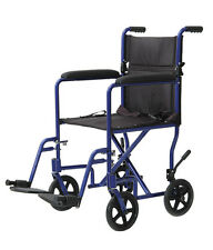 Medline Freedom 3 Ultralight Transport Chair Wheelchair - 4 Great Color Choices