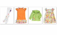 Nwt Gymboree butterfly blossoms dress hoodie tights 2T 3T 4T 5T