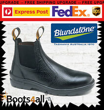 NEW Blundstone Work Boots Safety/ Steel Toe Cap Blk Rambler Leather On Sale 330