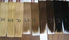 """30"""" CLIP ON DELUXE THICK HUMAN HAIR EXTENSIONS 260 GRAMS CHOOSE COLOR BODY BLING"""