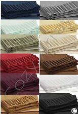 1600 COUNT DEEP POCKET 4 PIECE BED SHEET SET - PLEATED -  12 COLORS IN ALL SIZES