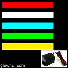 1 ft electroluminescent panel back light lamp strip tape & 12 v EL wire inverter