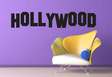 Famous Hollywood Sign - Wall Art Design