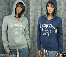 Aeropostale Women Embroidery Applique Embellished Sweat Shirt Hoodie MSRP$44.50