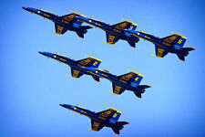 Blue Angels Formation - CANVAS OR PRINT WALL ART