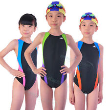 YINGFA girls training raceing swimwear competition siwmsuit 976